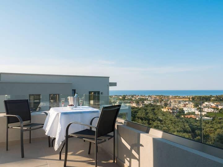 Dempla Heights Villas - Villa Leya with Sea Views