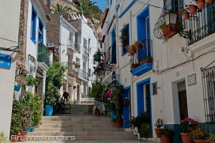 House Casco Antiguo Santa Cruz old town