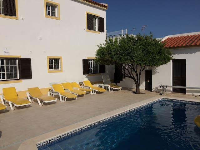 Stunning 6 bed villa with heatable pool near beach