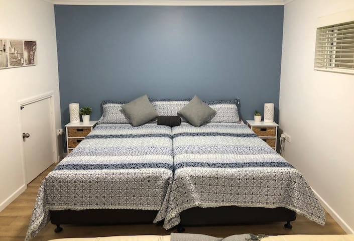 Two brand new King size ensemble beds