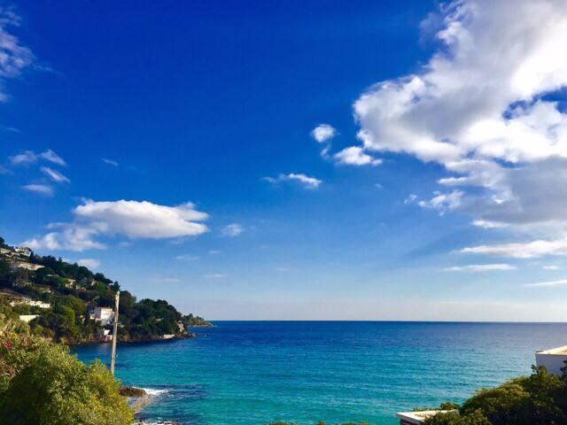 Duplex vue mer plage Saint-Clair - Ле-Лаванду - Квартира