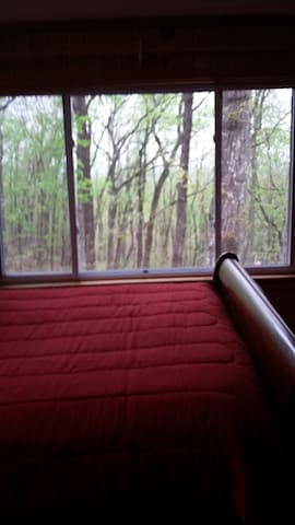 Master Bedroom over looking the mountain