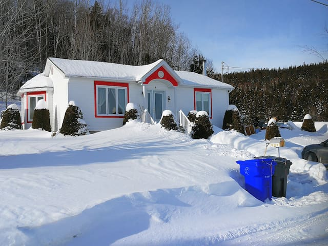 Maison Albert Motoneige Plaisir d'hivers Gaspésie
