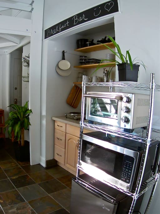 Brand new appliances and dishes
