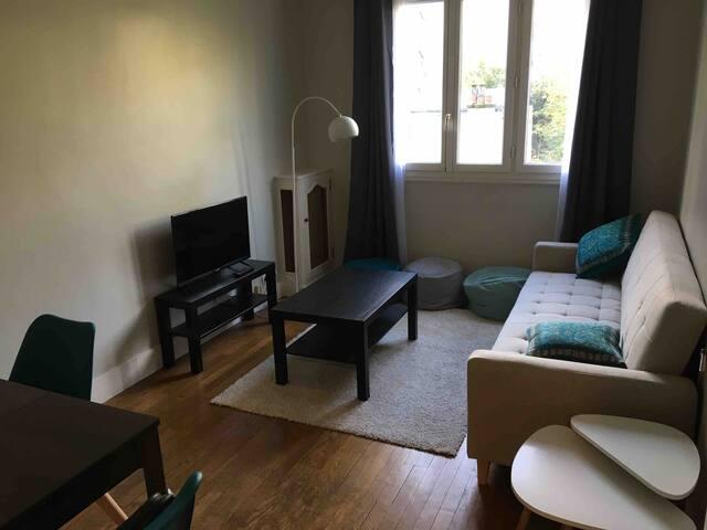 Appartement meublé au calme et refait à neuf
