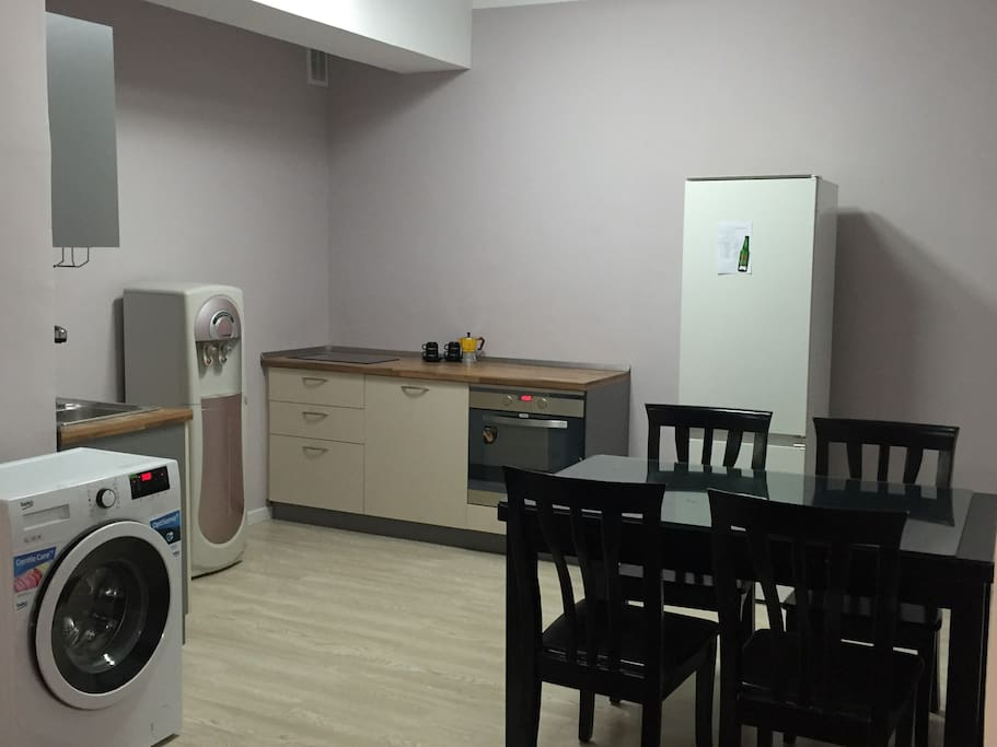 Gallery kitchen+Washing machine+Water dispenser