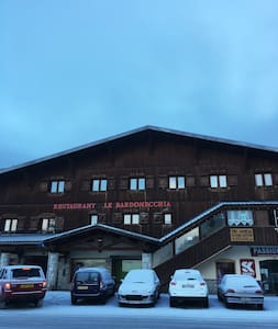 Ski apartment next to ski lift,5mn walk to centre - Modane