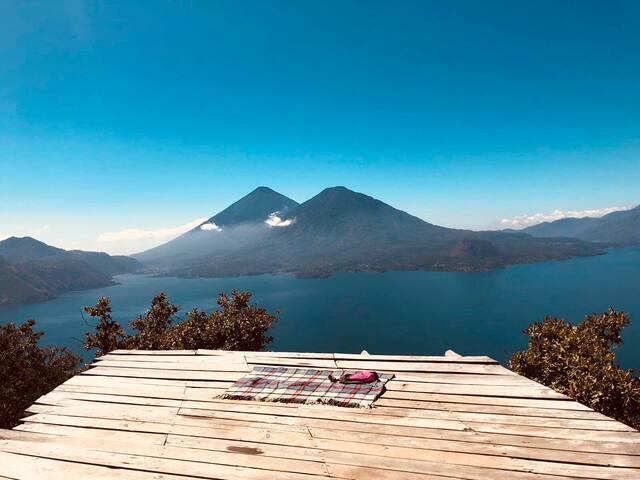 Chakana Cabin  El Castillo Lago Atitlan