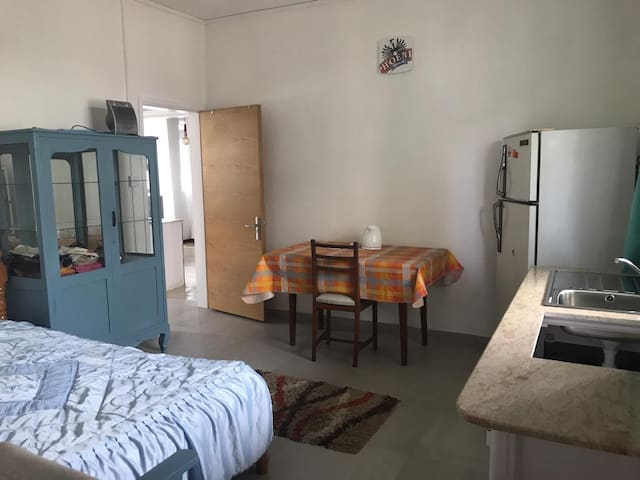 Spacious studio/private entrance/washer/bathroom