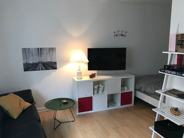 Lys 1. værelses lejlighed, først på Amager