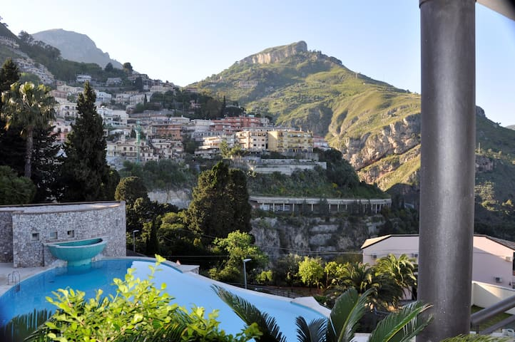 Openview Apartment on Taormina littoral.