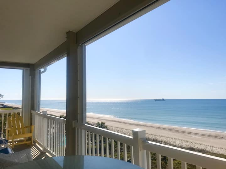 """""""Once Upon a Tide"""" Direct Ocean Front, Yr Rnd Pool"""