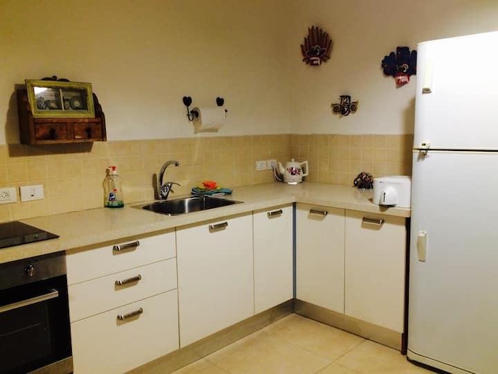 Cozy apartment in a quiet Moshav in central Israel