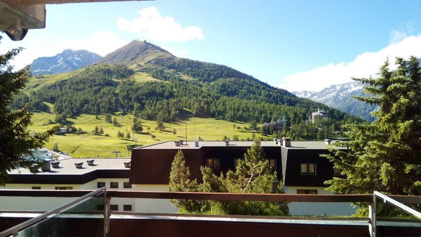 Appartamento  con splendida vista sui monti
