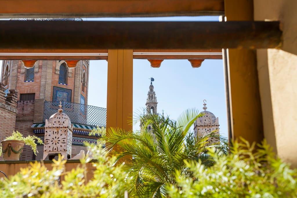 Vista desde la terraza del salón