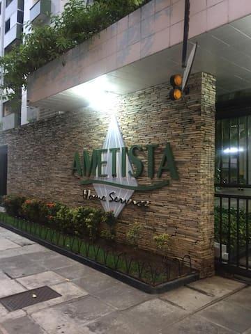 Flat Home Service Ametista in Boa Viagem - Recife