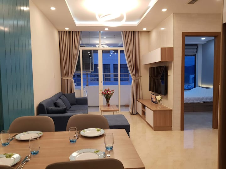 Comfortable apartment with view to the best beach