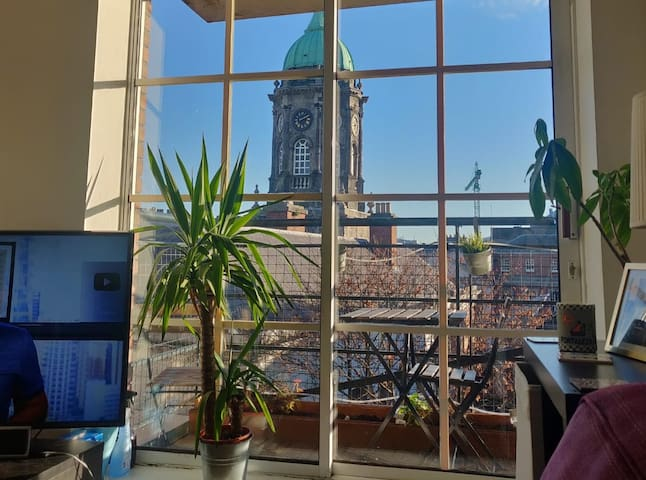 Best location in city centre with amazing views