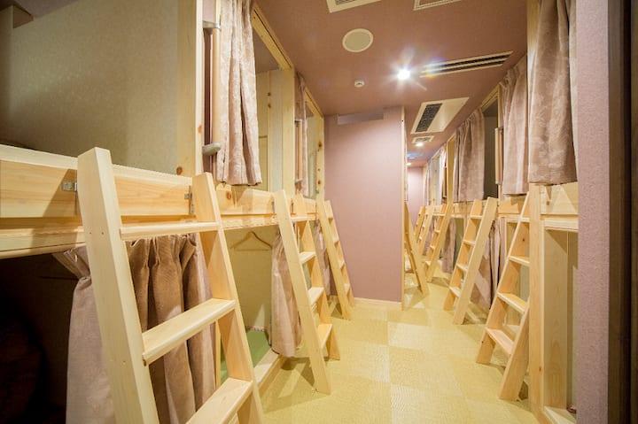 *Hostel WASABI Nagoya*Female Capsule Dorm