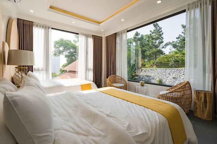 W1/ FAMILY ROOM/Calm+ Green view/ Halong city