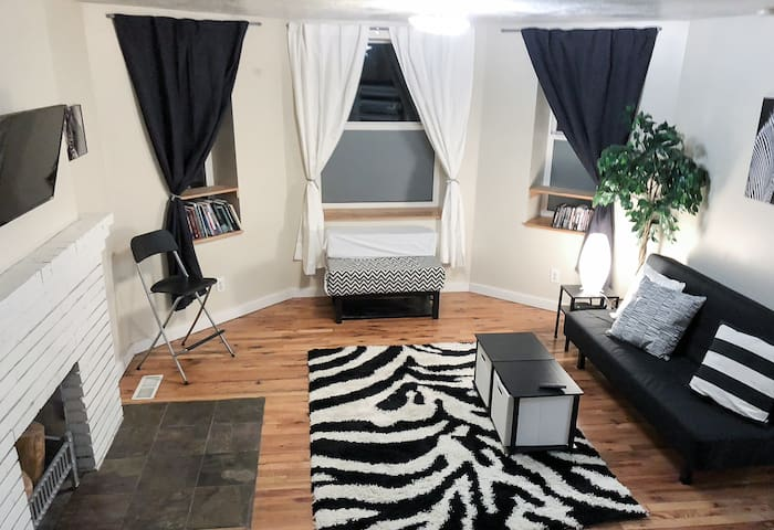 Beautiful Bright Zebra Sugarhouse Condo