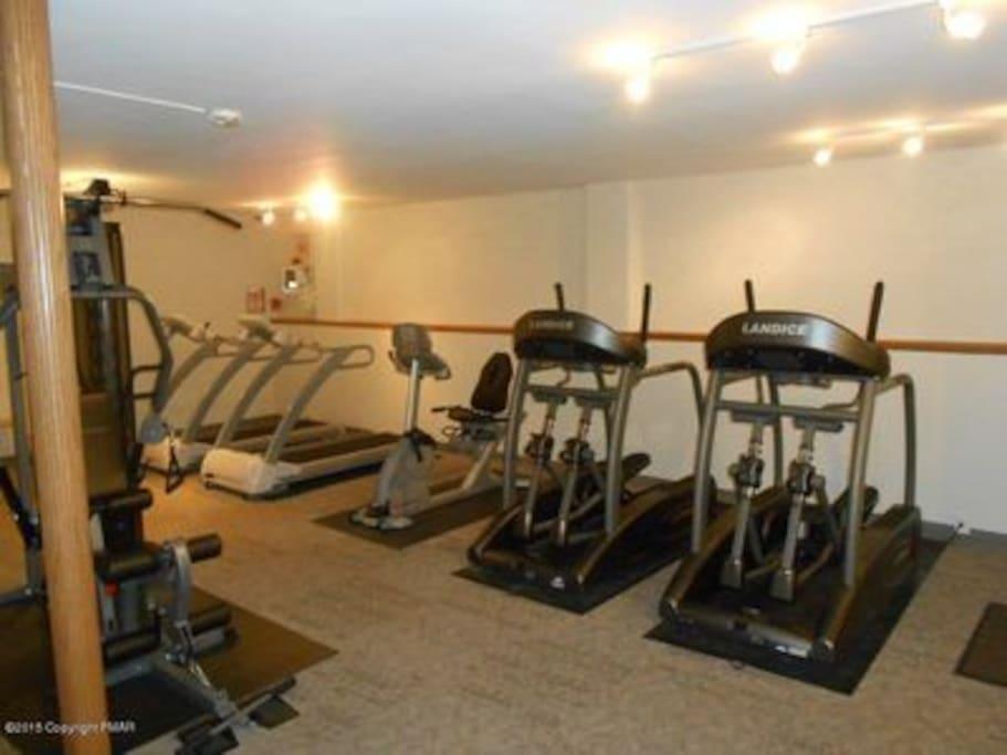 Community gym at club house