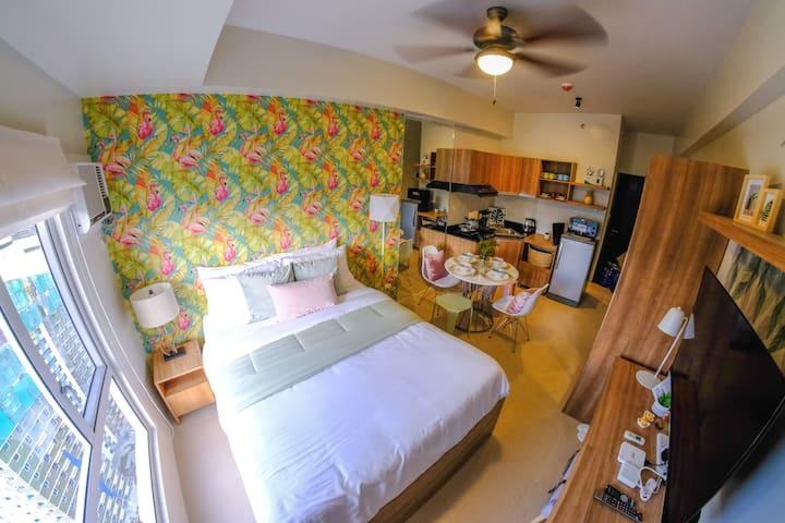 Tropical Studio Inside Cebu IT Park with U-box