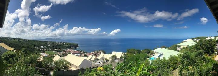 Pause Écolo Nord Caraïbe Ch2 - vue exceptionnelle