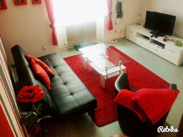 Schöne ruhige Wohnung in Stadtmitte - Konstanz - Departamento