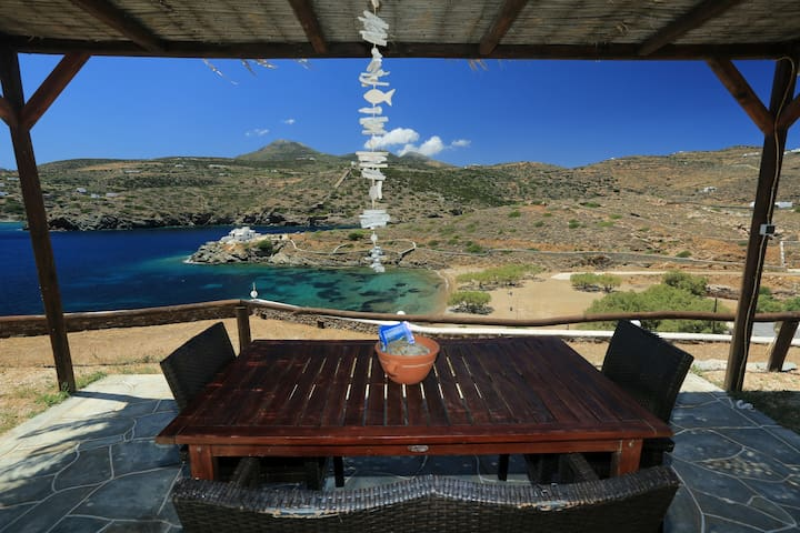 BeachFront Double Studio in Sifnos! - Faros - Apartamento