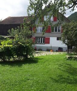 Wohn bei uns im alten Hexenhäuschen - Rüthi - Bed & Breakfast