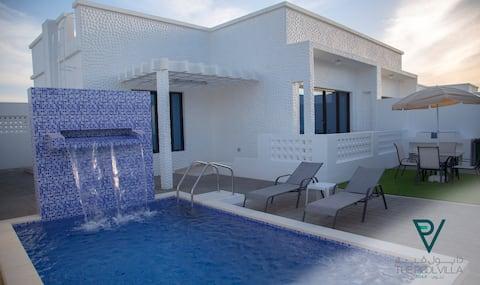 THE POOL VILLA - TANUF Twin Bedroom Pool Villa 3