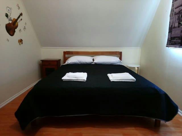 Alojamiento Austral, habitación matrimonial
