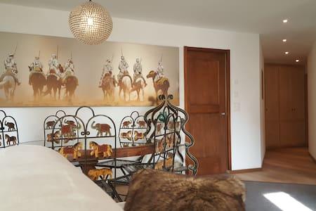 Stupendo appartamento vicino alle piste da sci - Silvaplana