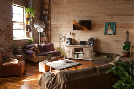 Beautiful Spacious Shared Loft - Philadelphie - Loft