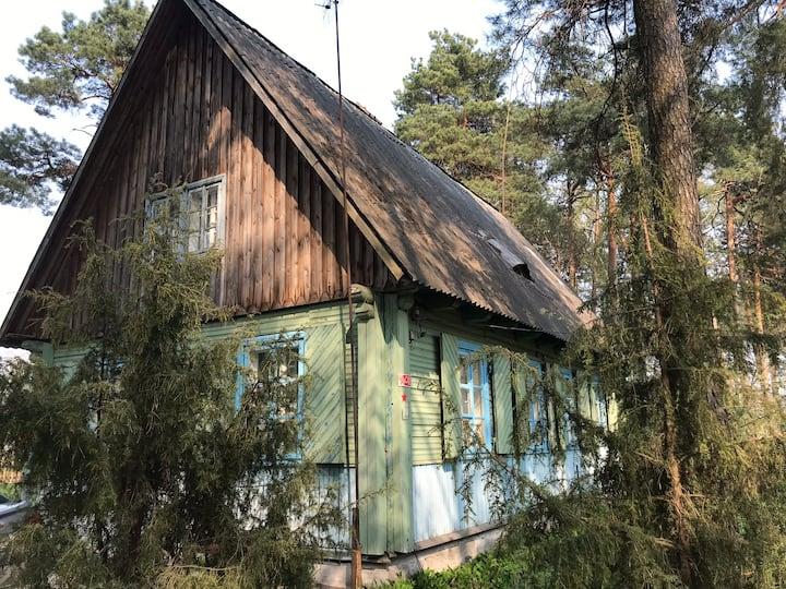 Построенный немцами уютный дом в центре Полесья