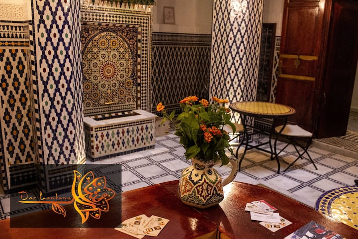 Chambre lits jumeaux Dahlia Fes   Bab Boujloud