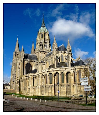 Charmant appartement en centre ville - Bayeux - อพาร์ทเมนท์
