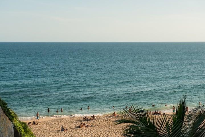 Pés na areia - Praia do Buracão
