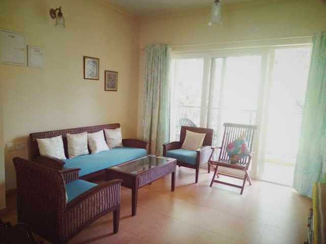 2 bedroom apartment with pool nr Calangute/Baga - Saligao - Apartamento
