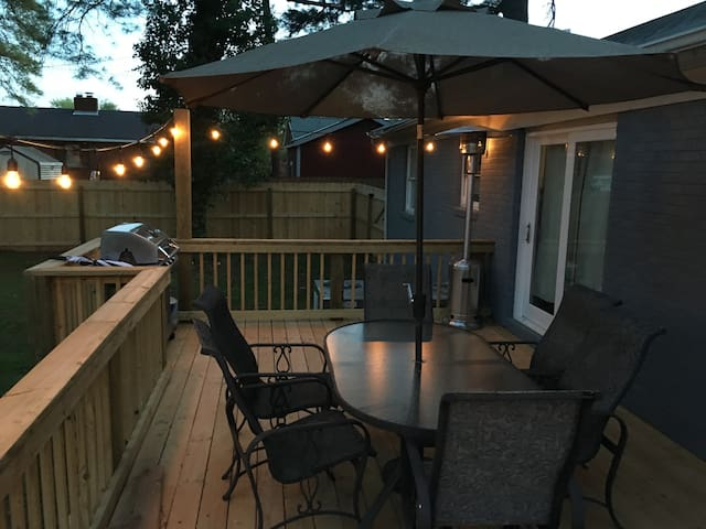3b/2ba home ready for your PGA Championship Party - Charlotte - Rumah