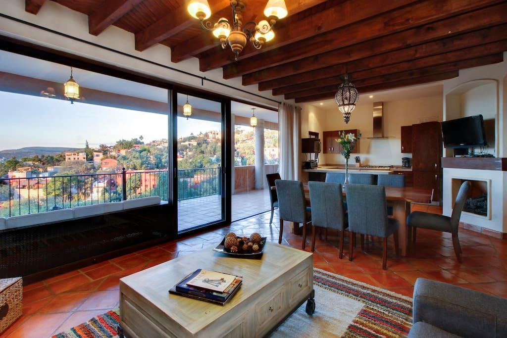 Hermosas Vistas in San Miguel de Allende - Condominiums for Rent in San Miguel de Allende, Guanajuato, Mexico