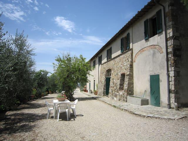 Farmhouse Apartment on the Florentine hills