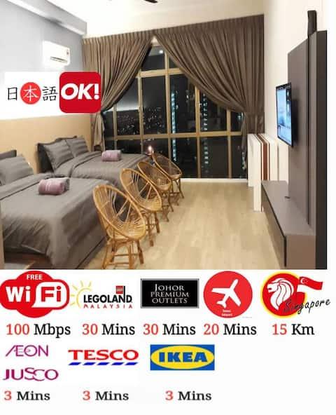 3 mins-IKEA-AEON-TESCO-WATERPARK(MALAYSIA)3分钟到大型商场