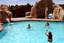 Pools and slides at Zion Ponderosa Resort