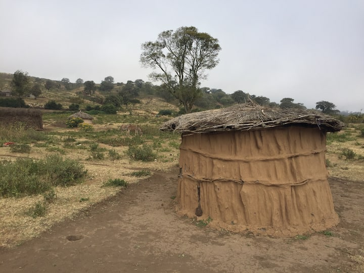 Maasai Village Hut