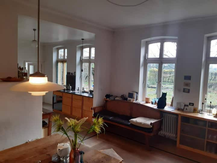 "Family-Friendly Holiday Apartment ""Weideblick"" with Wi-Fi, Garden & Terrace; Parking Available, Wheelchair-Accessible"