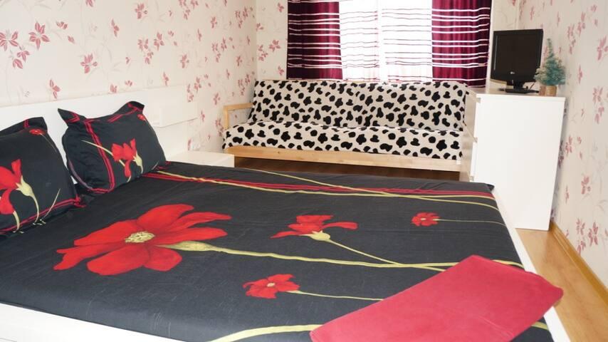 Комфортабельная квартира в центре города - Perm' - Apartamento