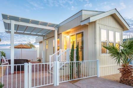 Tiny 'Courtyard' Home, Big Lifestyle - Desert Hot Springs - Autre