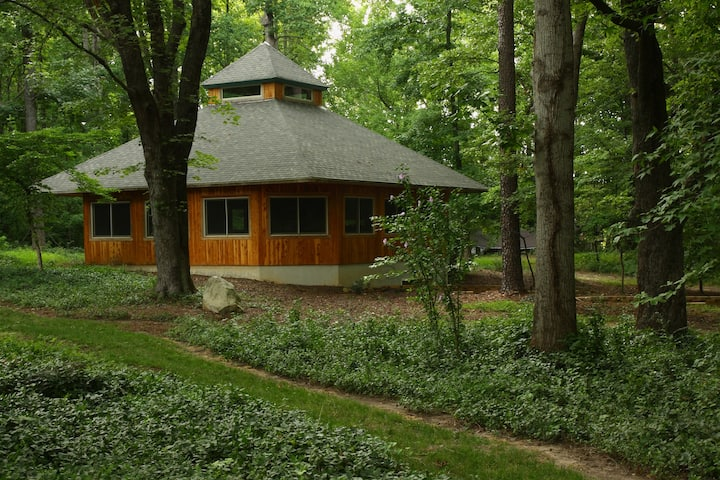 Timber Frame Medicine House